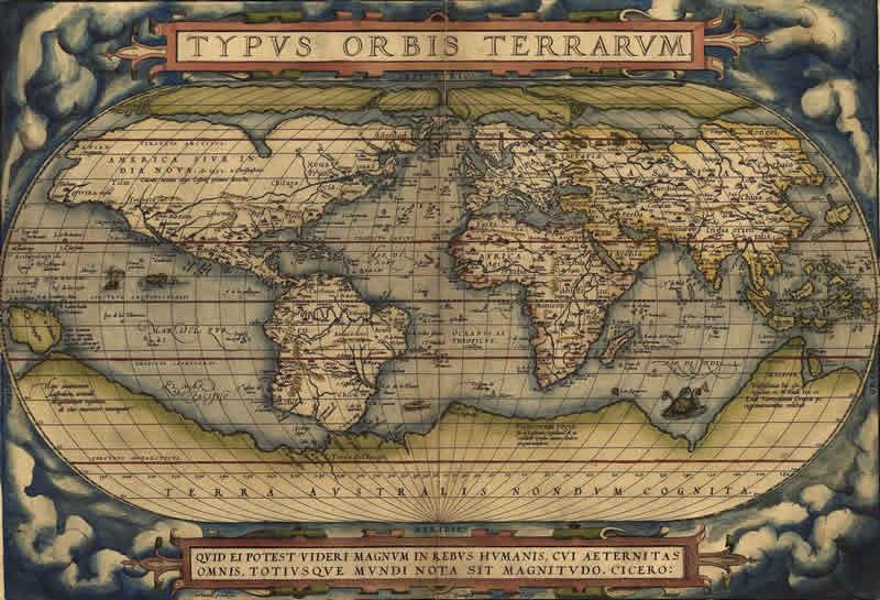 Congelare la Ricerca Theatrum Orbis Terrarum Abraham Ortelius