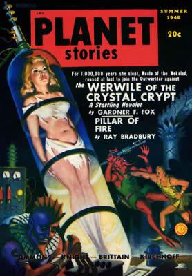Magazine Planet Stories 1939 La Bella Addormentata nel Frigo