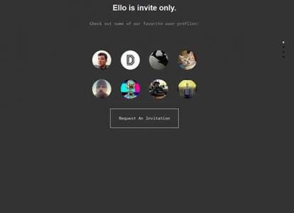 Ello Nuovo Social Network