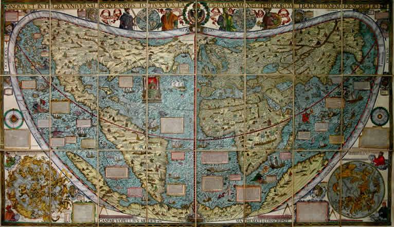 Congelare la Ricerca Caspar Vopellius Cartografo