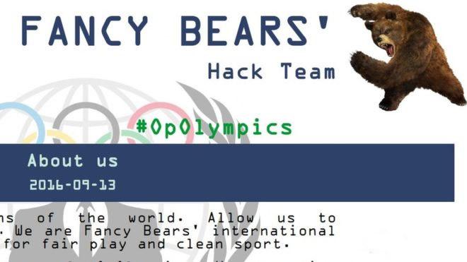 Cinque Cerchi di Credibilità Fancy Bear Hacker Team