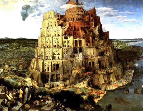 Terraformazione Nuova Genesi Brueghel Vecchio Torre di Babele
