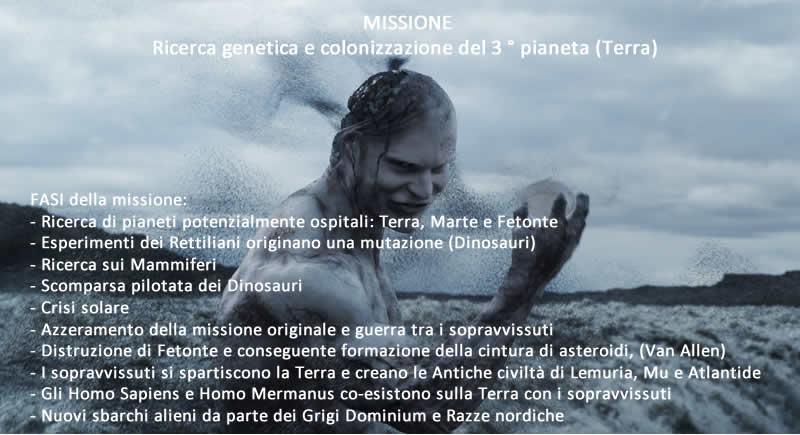 Terraformazione e Nuova Genesi Fasi Missione