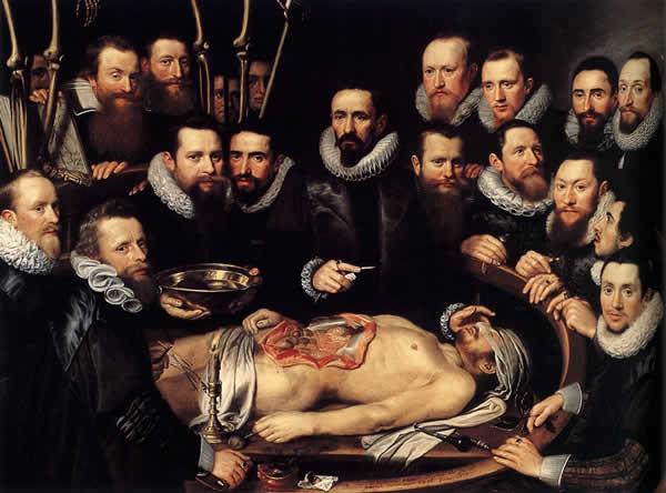 Lezioni di Medicina Anatomy Lesson of Dr. Willem van der Meer
