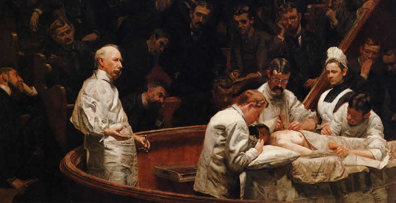 Lezioni di Medicina The Agnew Clinic 1889 Thomas Eakins