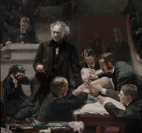 Lezioni di Medicina The Gross Clinic 1875 Thomas Eakins Circolo dei Tignosi