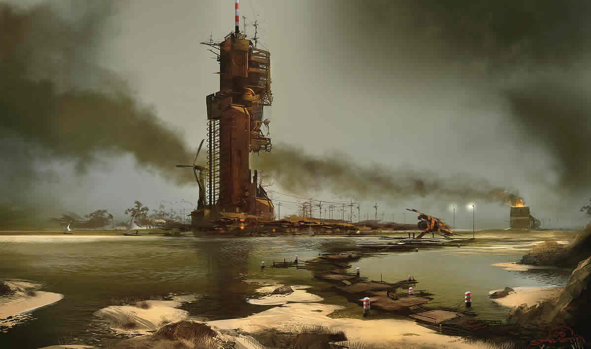 Genius Loci Dust Industry Picture by Sparth