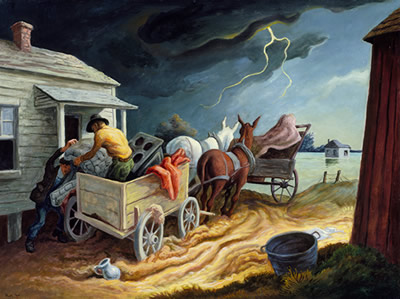 Circolo-dei-Tignosi-I-Sette-Vizi-del-Capitale-Thomas-Hart-Benton-Spring-on-the-Missouri-1945.jpg