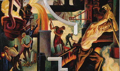 Circolo dei Tignosi I Sette Vizi del CapitaleThomas Hart Benton America Today (dettaglio) 1930