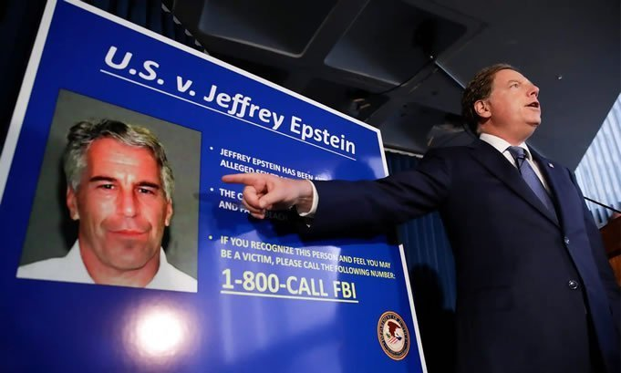 Capitalismo e Cannibalismo Arresto di Epstein