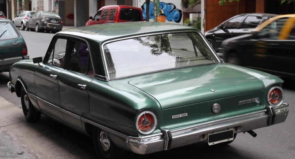 Sentenza Storica Ford Falcon Verde Esercito Argentino