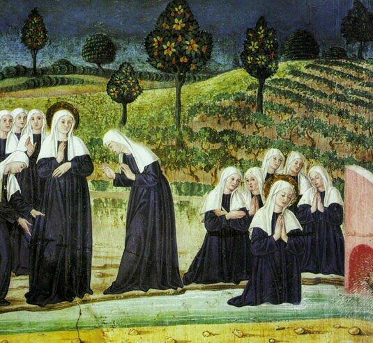 Farsi Suora Francesca al Ruscello