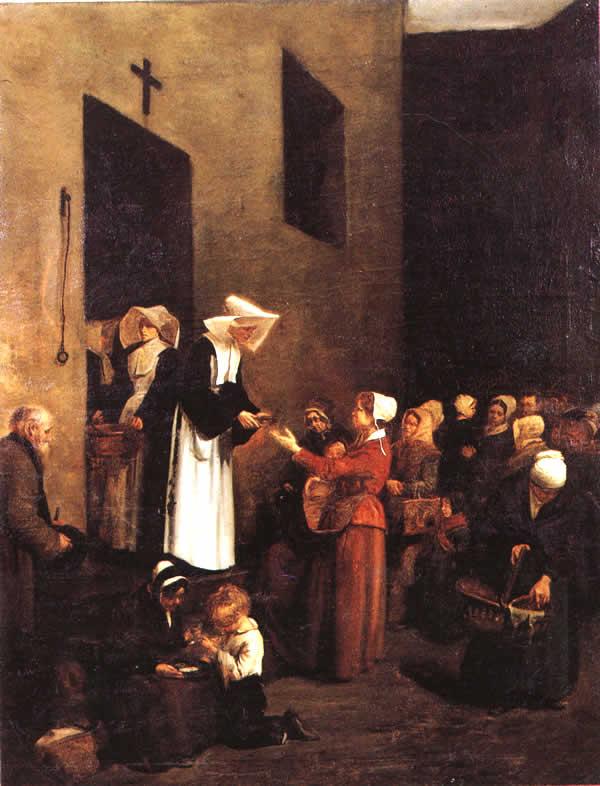 Farsi Suora Francois Bonvin La Charite 1851
