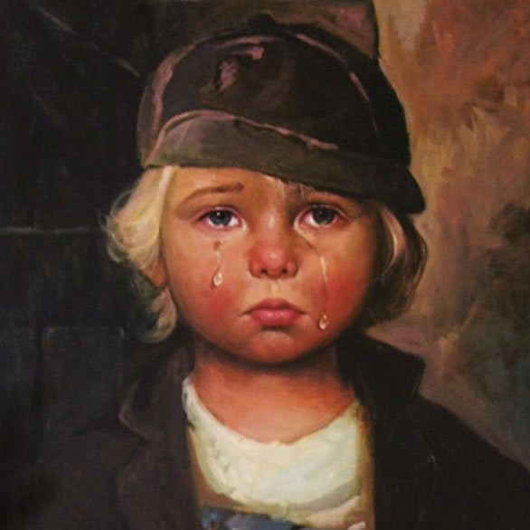La Burocrazia Protegge Se Stessa- Giovanni Bragolin - Bambino Piangente 4
