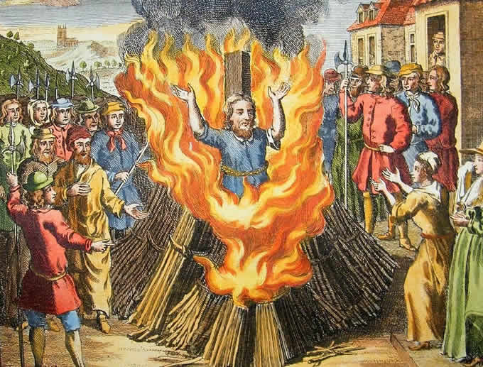 Il Lastrico dell'Inferno - Rogo degli Eretici